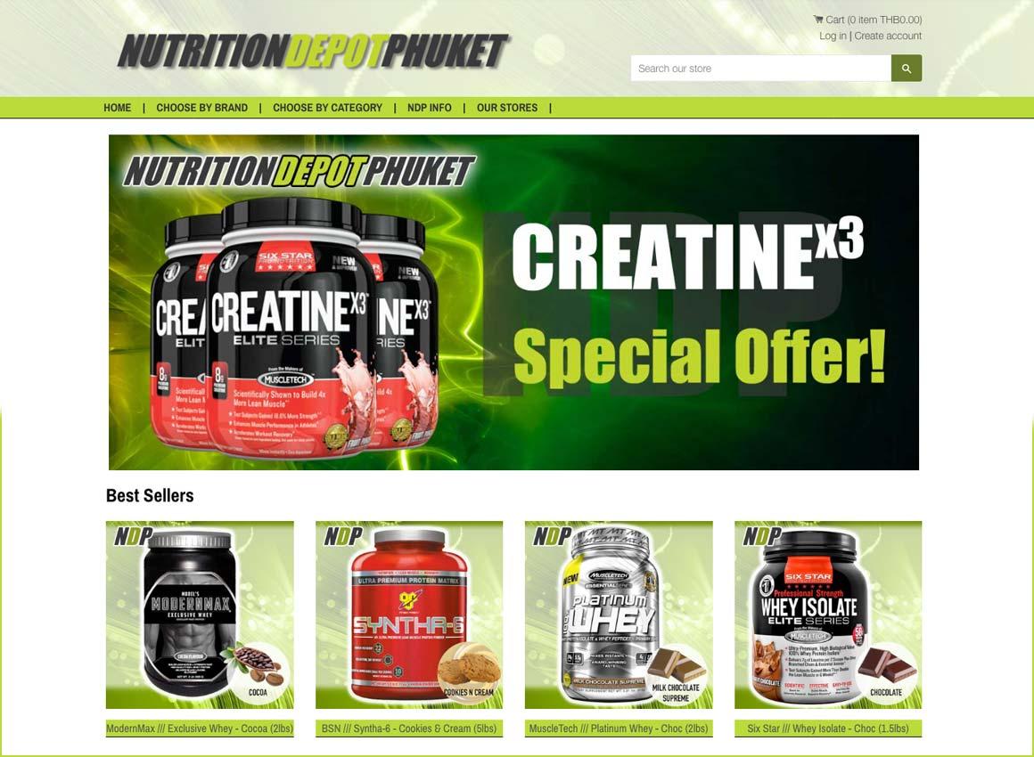 nutrition-depot-pjuket-finflix-web-design-phuket