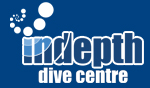 indepth dive centre logo design phuket finflix